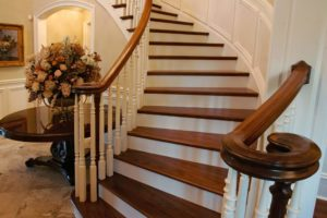 Wooden Stair DIY Makeover