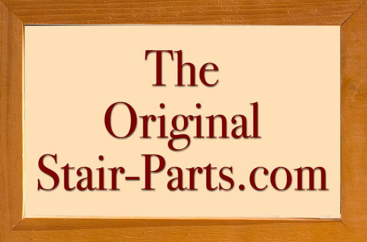The Original Stair-Parts.com in a wood frame